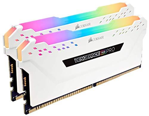 Corsair Vengeance RGB Pro - Kit estético de iluminación LED RGB (DDR4, sin la Memoria incorporada) Blanco (CMWLEKIT2W) 2