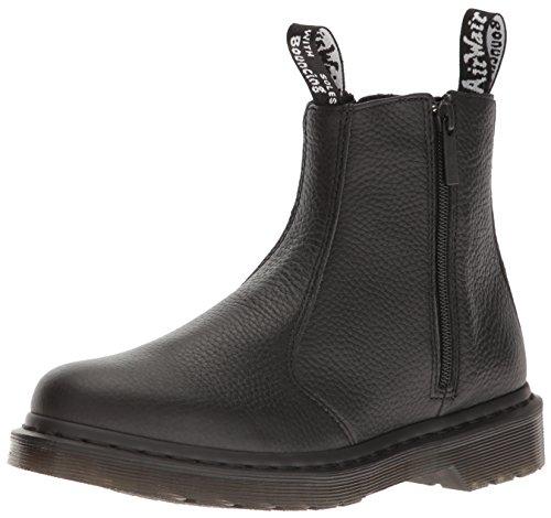 Dr. Martens Women's 2976 W/Zips Chelsea Boot, Black Aunt Sally, 8