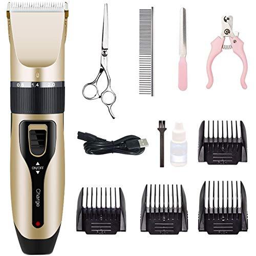 Queta Tierhaarschneider elektrischer Haarschneider, Tierhaarschneider, elektrischer Tierschneider, Hundekatze Haustier elektrischer Haarschneider