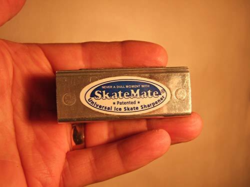 SKATEMATE Patented Handheld Ice Skate Sharpener/Conditioner for All Ice Skates, Ice Hockey, Speed Skates or Dance!