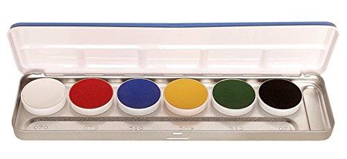 KRYOLAN ITALIA SRL, 6 Farbpalette Supracolor