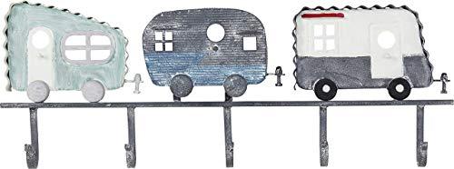 KARE Camper-Perchero de Pared (Metal y Acero pulverizado, tamaño, Talla única