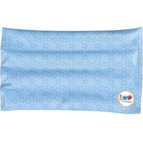 Fun and Function - Wipe Clean Weighted Lap Pad - Sensory Item for Kids - Helps Kids with Special Needs, Sensory Over Responding, Travel Issues (Small)