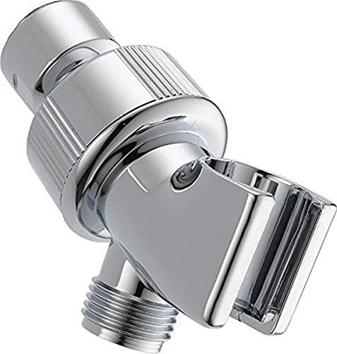 DELTA U3401-PK Adjustable Shower Arm Mount, Chrome, 0.5