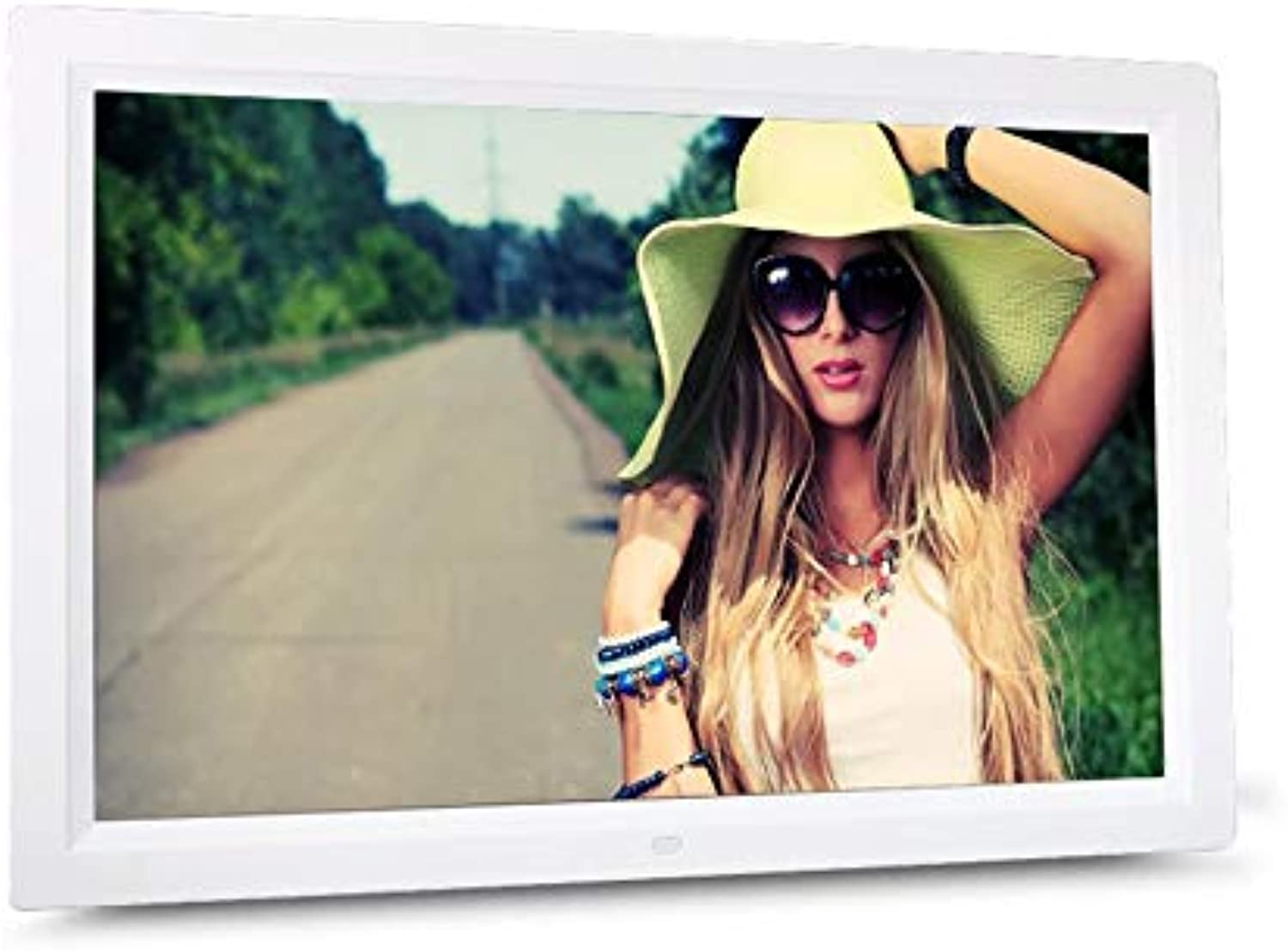 WEIWEITOE-DE HD Digital Photo Frame Electronic Album 17 Inches Front Touch Buttons Multi-Language LED Screen Pictures Music Video B07Q5YD3YG  | Neuer Stil