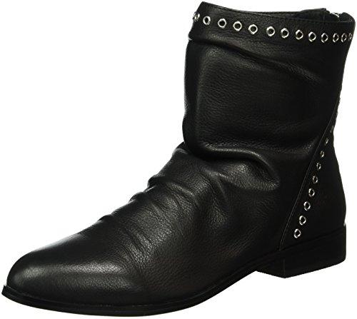 Buffalo Londen dames 415-1412-1 Indios Leather korte schacht laarzen