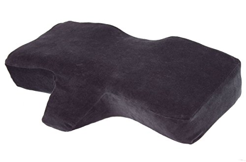 Eyelash Extension Application Pillow - Ergonomic Memory Foam | Medical Pillow | 25' x 15.75' x 4.33' |Velvet | Contour Pillow with Neck Support