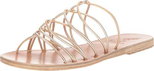 Ancient Greek Sandals Rodopi Platinum 39 (US Women's 9) M