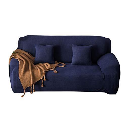 Uxsiya Funda de sofá resistente a las arrugas para cafés (cuatro personas 235-300cm)