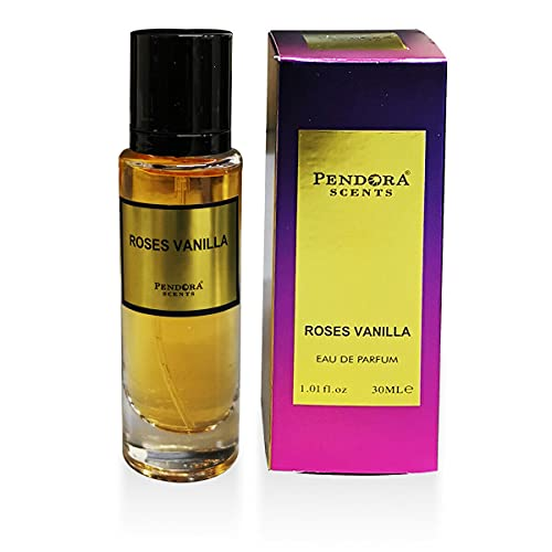 Paris Corner Perfumes 30ml EDPs Hombres Mujeres Unisex Rose Oud Vanille Tabaco Floral Fragancia (ROSES VANILLA)