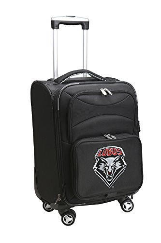 NCAA New Mexico Lobos Domestic Carry-On Spinner, 20-Inch, Black