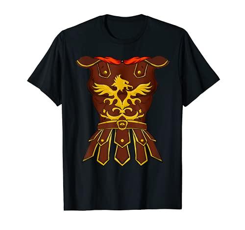 Divertido disfraz de Gladiador Romano para Halloween Guerrero Fcil DIY Camiseta