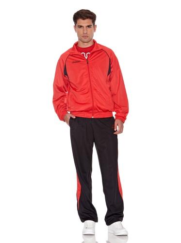 Kappa Trainingsanzug Breccia rot/schwarz XL