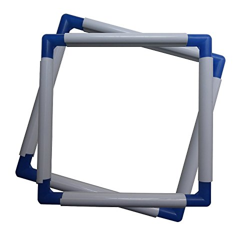 """Universal Clip Frame for Embroidery, Quilting, Cross-Stitch, Needlepoint, Silk-Painting, etc - 8"""" x 8"""""""
