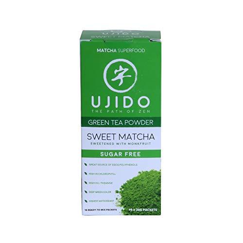 Ujido Japanese Monk Fruit Sweet Matcha (7.05 Ounce (200g))