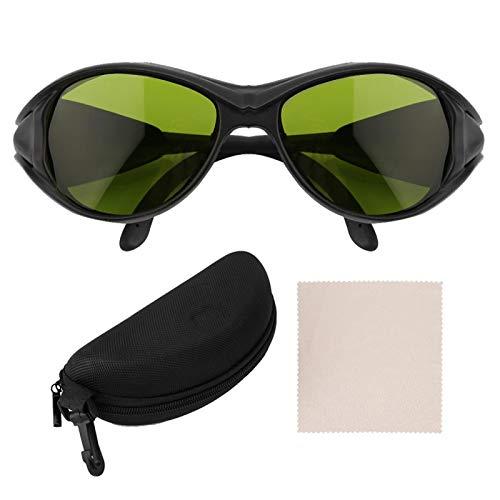 Bloqueo de Gafas La/ser Rojas, OD5 200nm-2000nm Gafas Protectoras de iluminación La/ser Gafas de protección de luz de Seguridad para depilación La/ser