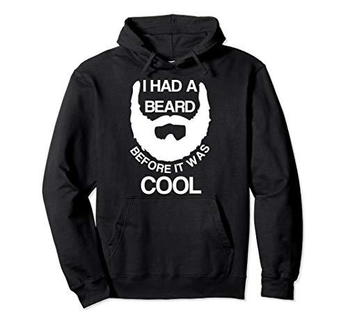 Lustiger Männerbart, bevor es cool war Pullover Hoodie