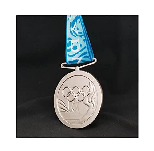 Recuerdo de Medalla olímpica de Australia, Medalla de Plata de los Juegos Olímpicos de Sydney 2000, Insignia de réplica 1: 1 de aleación de Zinc, Regalo de Recuerdo Coleccionable