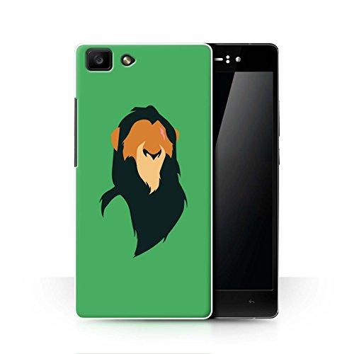 Hülle Für Oppo R5 Karikatur Afrikanische Tiere Scar Inspiriert Design Transparent Ultra Dünn Klar Hart Schutz Handyhülle Case