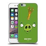 Head Hülle Designs Offiziell Zugelassen Angry Birds King Pig Volles Gesicht Soft Gel Handyhülle Hülle Huelle kompatibel mit Apple iPhone 6 / iPhone 6s