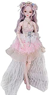Dream Fairy Fortune Days Original Design 60 cm Dolls(with Gift Box), Series 26 Joints Doll, Best Gift for Girls (Klaire)