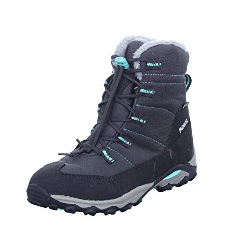 Meindl Yolup Junior GTX, 34 Kinder, Graphit/türkis