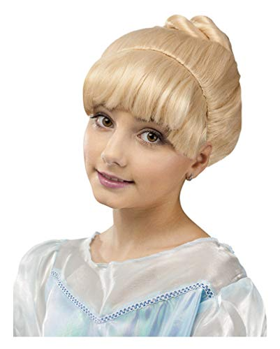 Horror-Shop Perruque Fée princesse enfant Blond