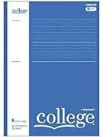 キョクトウ ノート College プラスメモリB罫 B5 ブルー CLP3BB 【× 3 冊 】