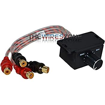 Xscorpion BCK-1 Car Stereo Amplifier Bass Boost Remote Level Gain Control Knob