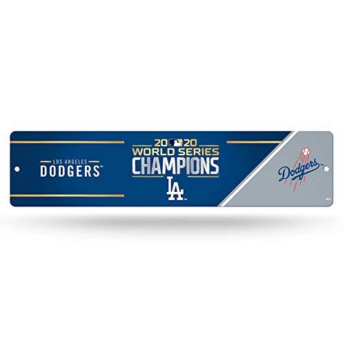 "Rico 2020 Los Angeles ""LA"" Dodgers World Champions Plastic Street Sign, High Resolution"