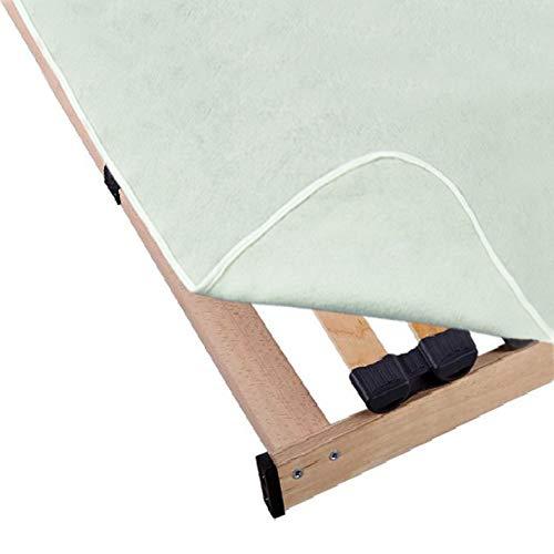 Mixibaby Matratzenunterlage Matratzenschoner Lattenrostauflage Matratze Unterlage Filzschoner, Größe:140 x 200 cm