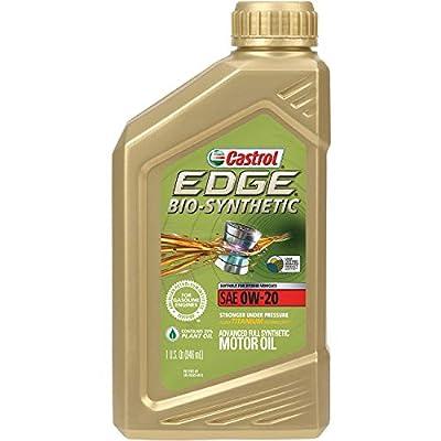 Castrol 60016 EDGE 0W-20 Advanced Full Synthetic Motor Oil