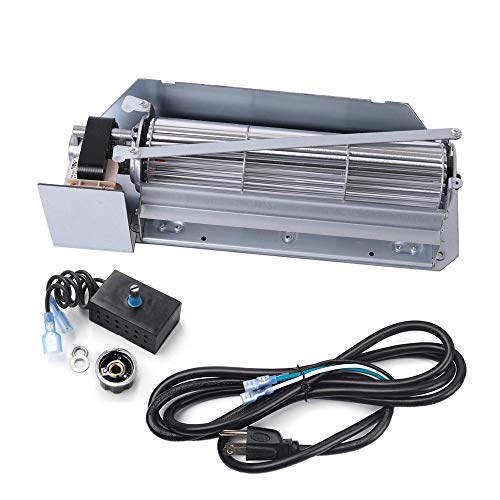 Criditpid FBK-200 Fireplace Blower Fan KIT Replacement for Astria, Lennox, Superior, Rotom.