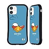 Head Hülle Designs Offiziell Offizielle Angry Birds Blues Volles Gesicht Hybride Handyhülle Hülle Huelle kompatibel mit Apple iPhone 12 Mini
