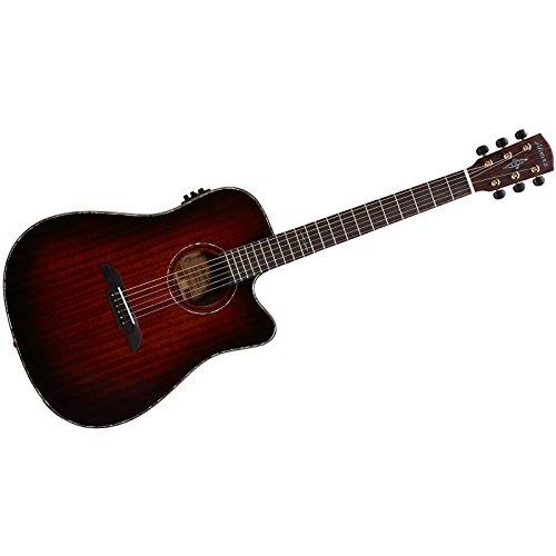 ALVAREZ 311065 MDA66CESHB Dreadnought Electric/Cutaway Gitarre