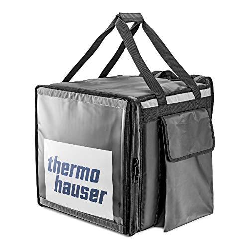 Thermohauser Lieferrucksack 420 x 420 x 420 mm - Transport von Pizza oder Menü-Boxen