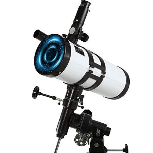 DKEE Binoculars 114mm Mit Großem Durchmesser Teleskop for Kinder Und Anfänger - Profi Stargazing - Deep Space Kindersternenteleskop (Color : White)