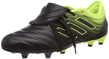 adidas Men s Copa Gloro 19.2 Firm Ground Black/Black/Solar Yellow 10 M US