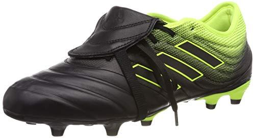 adidas Herren Copa Gloro 19.2 Fg Fußballschuhe, Schwarz Core Black Core Black Solar Yellow Core Black Core Black Solar Yellow, 46 EU