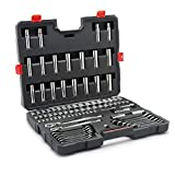 Crescent 90 Piece Mechanics Tool Set with Ratcheting Wrenches, SAE & Metric -  CTK90
