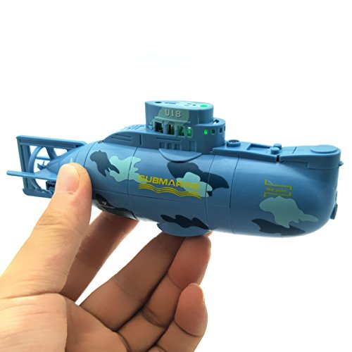 EUDAX Mini RC Water Boat Toy...