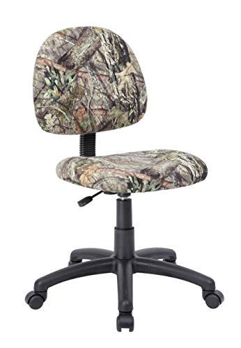 Boss Office Products Boss Office Mossy Oak Deluxe Posture Chair, Other, Camoflauge