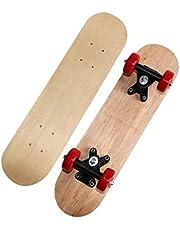 Updayday Mini patineta, diapasón de Madera Maple Wood DIY Assembly Skate Boarding Toy, para Principiantes Graffiti