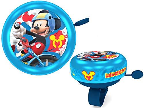 Disney Jungen Mickey Mouse Fahrradklingel, Mehrfarbig, S