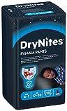 Huggies DryNites Boy hochabsorbierende Pyjamahosen Unterhosen für Jungen 4-7 Jahre, 2 Pack (2 x 3 x 10 Windeln) - 4