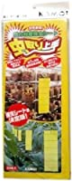 虫取り上手 強力粘着捕虫シート 黄色 20枚入×4個