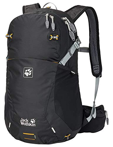 Jack Wolfskin Moab Jam 24 Outdoor Wander Rucksack, Black, 49x35x13 cm