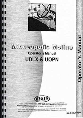 Tractors Patio, Lawn & Garden Minneapolis Moline Operators Manual ...