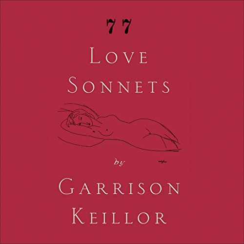 77 Love Sonnets audiobook cover art