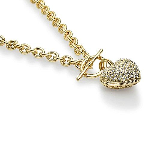 BERRICLE الذهب مطلي قاعدة معدنية القلب تبديل للبيع